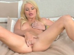 Alexis Ford has dildo-hungry cunt
